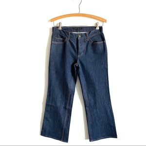 Theory High Rise Straight Leg Jeans